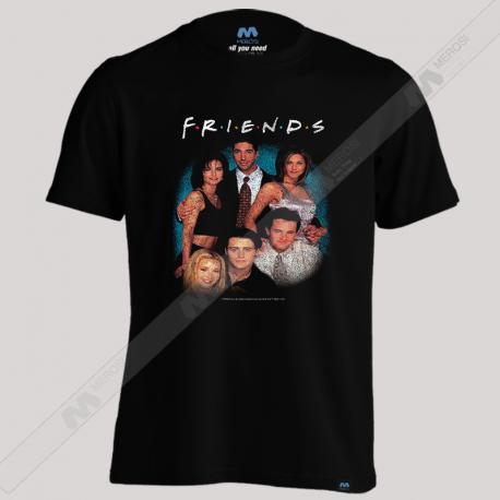 تیشرت طرح Vintage Friends