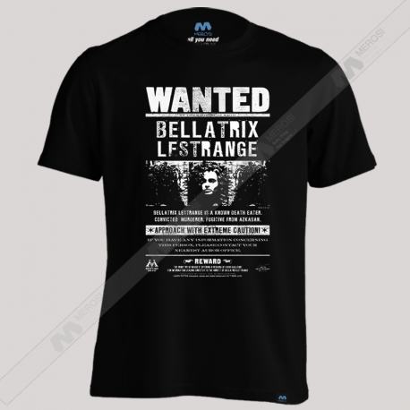 تیشرت طرح Bllatrix Wanted!