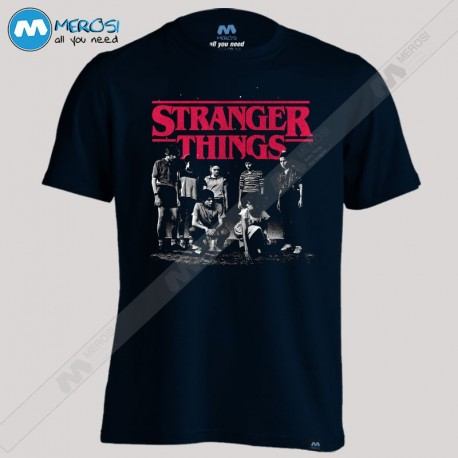 تیشرت Group Shot Fade Stranger Things