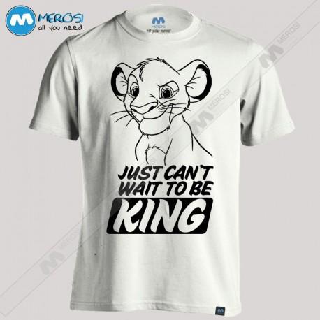 تیشرت Can't Wait To Be King
