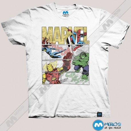 تیشرت Marvel Comics Retro Superheroes