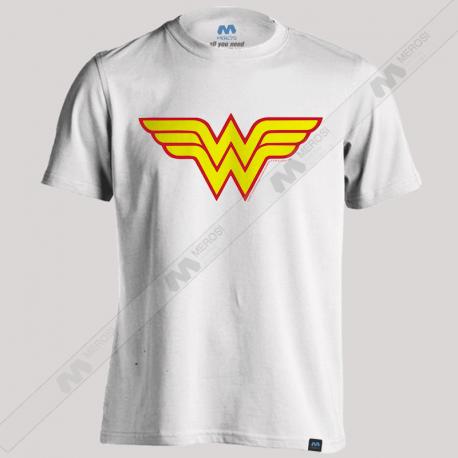 تیشرت طرح Wonder Woman Classic Logo