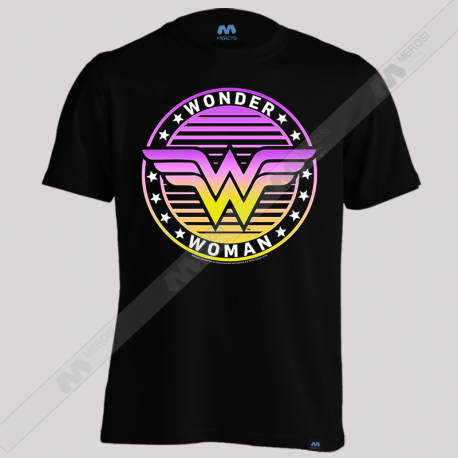 تیشرت Wonder Woman Purple Logo