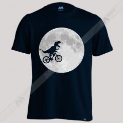 تیشرت Dinosaur bike and MOON