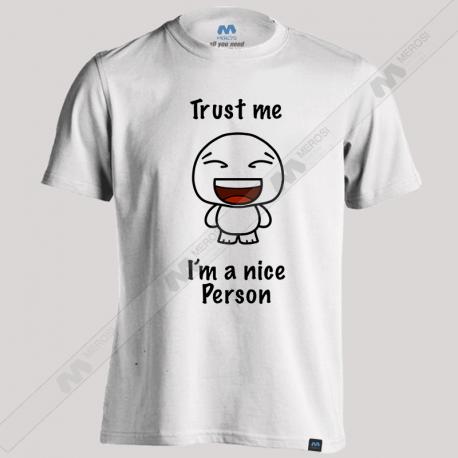 تیشرت طرح Nice Person