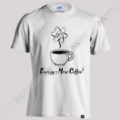 تیشرت طرح Energy More Coffee
