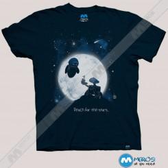 تیشرت Wall-E Reach For The Stars