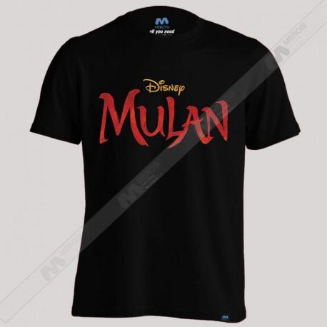 تیشرت Mulan Live Action Logo