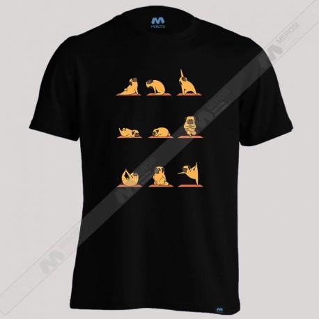 تیشرت Pug Yoga
