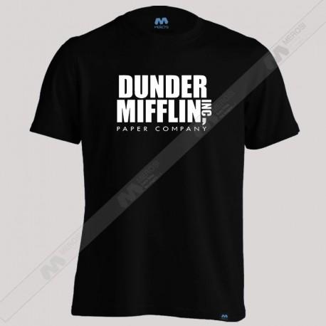 تیشرت Dunder Mifflin Office Logo