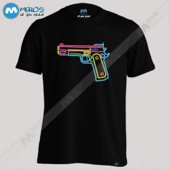 تیشرت Neon Gun