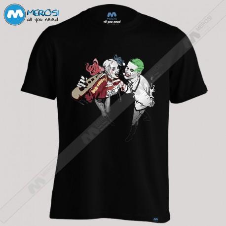 تیشرت Harley Quinn and Joker
