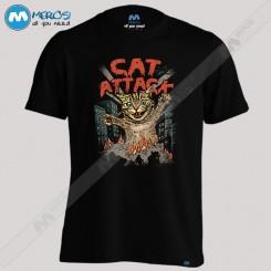 تیشرت Cat Attack