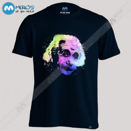 تیشرت Einstein Quantum Watercolor