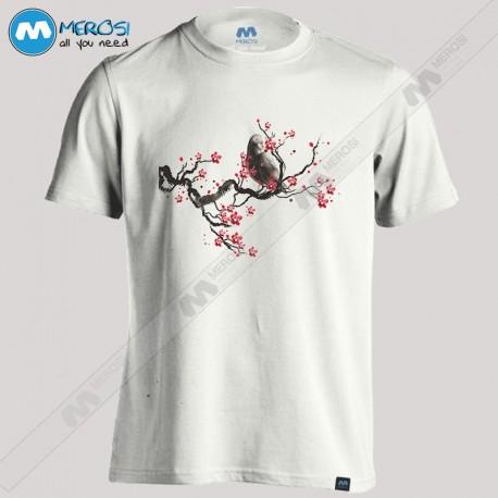 تیشرت Cherry Blossom Raven