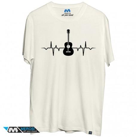 تیشرت Guitara And Heartbeat