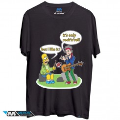 تیشرت Simpson Rock And Roll