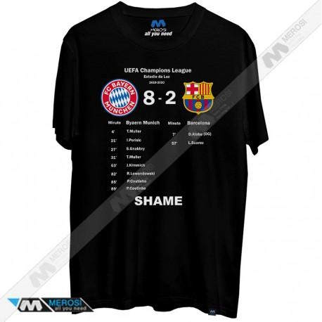 تیشرت Barcelona Bayern Shame