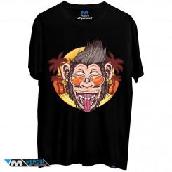 تی شرت طرح Crazy Monkey