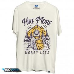 تی شرت طرح Hike more