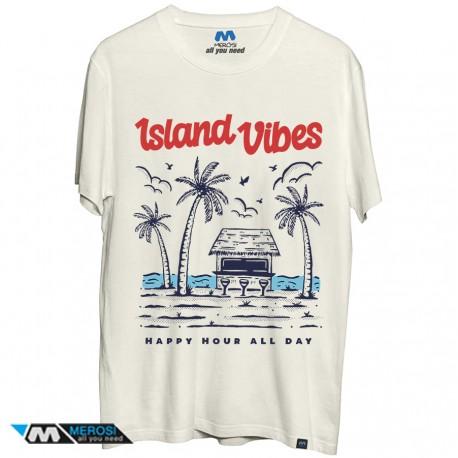 تی شرت طرح Island vibes