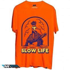 تی شرت طرح Slow Life
