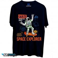 تی شرت طرح Space explorer