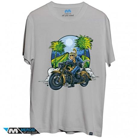 تی شرت طرح Monkey Rider