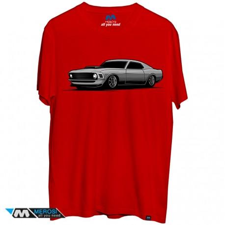تی شرت طرح Muscle Car