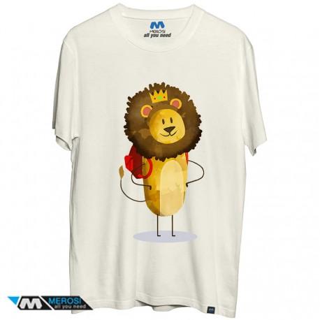 تیشرت Lion Splash
