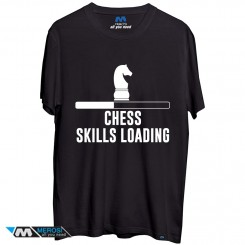 تیشرت Chess Skills Loading Chessmaster