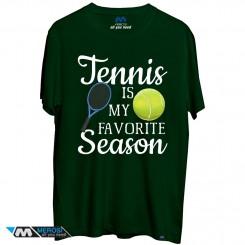 تیشرت Tennis is My Favorite Season