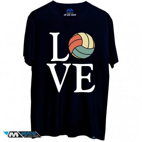 تیشرت Volleyball Love Beach
