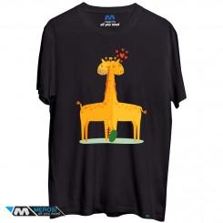 تیشرت Giraffe Love