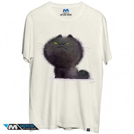 تیشرت Angry cat