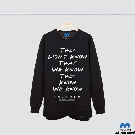 آستین بلند دورس Friends They Don't Know That We Know They Know We Know