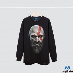 آستین بلند دورس Kratos Face