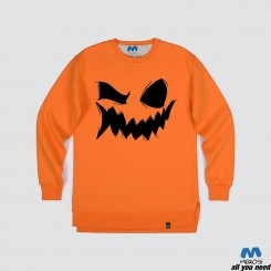 آستین بلند دورس Smile of Halloween Pumpkin
