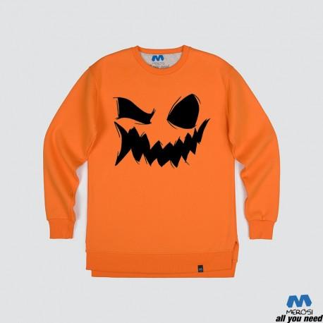 آستین بلند دورس Smile of Halloween Pumpkin