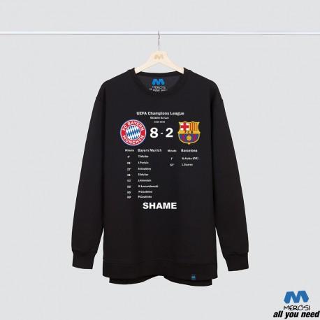 آستین بلند دورس Bayern Barca Shame