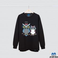 آستین بلند دورس Owl love