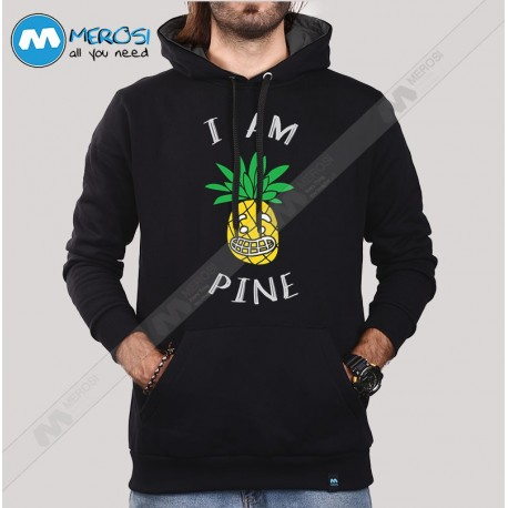 سویشرت Funny Gift Pineapple I Am Pine
