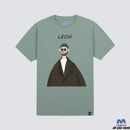 تیشرت Leon رنگ پسته ای