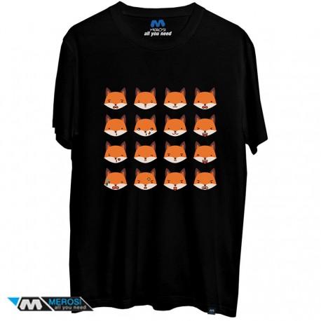 تیشرت Cute Fox Emojis