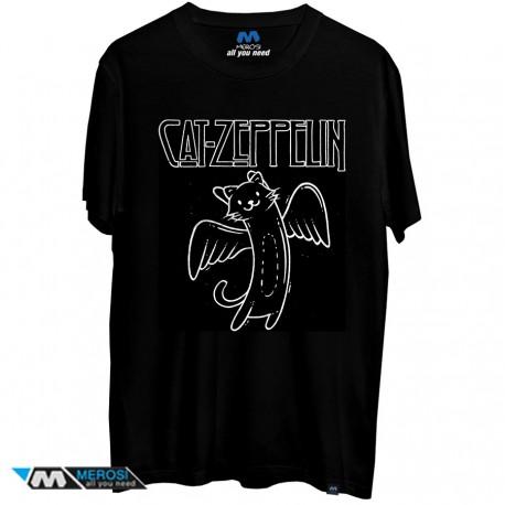 تیشرت Cat Zeppelin