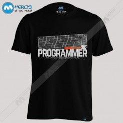 تیشرت طرح Programmer My Code needs coffee