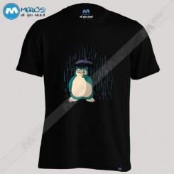 تیشرت طرح My Neighbor Snorlax