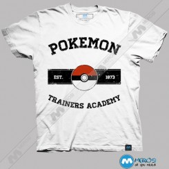 تیشرت طرح Pokemon Trainers Academy
