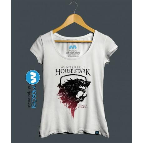 تیشرت دخترانه House Stark