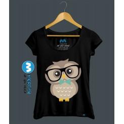 تیشرت دخترانه Hipster Owl